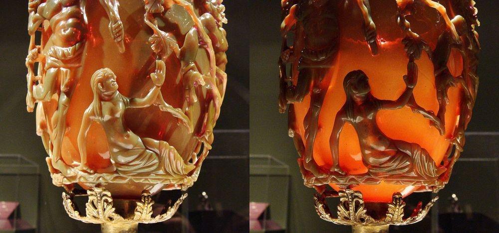perierga.gr - Κύπελλο Λυκούργου: Ένα έργο τέχνης της αρχαίας ρωμαϊκής νανοτεχνολογίας!