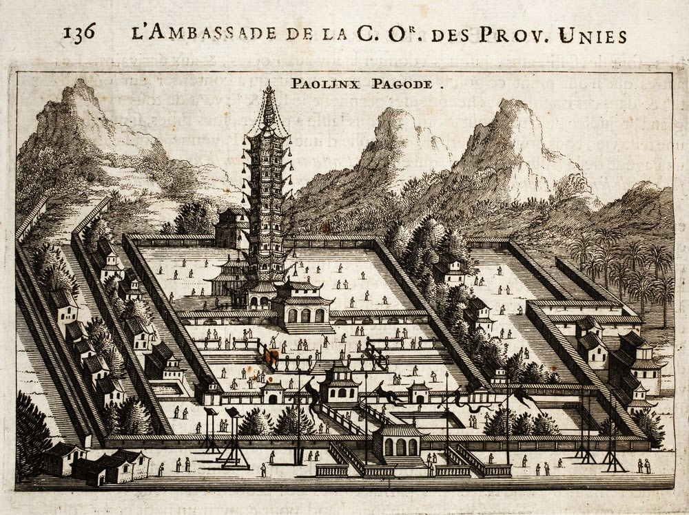 "perierga.gr - Ο ""Πορσελάνινος Πύργος"" του Nanjing ξαναδημιουργήθηκε!"