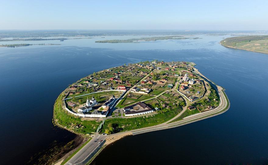 perierga.gr - Το μοναδικής ομορφιάς νησάκι Sviyazhsk στη λίστα της UNESCO!