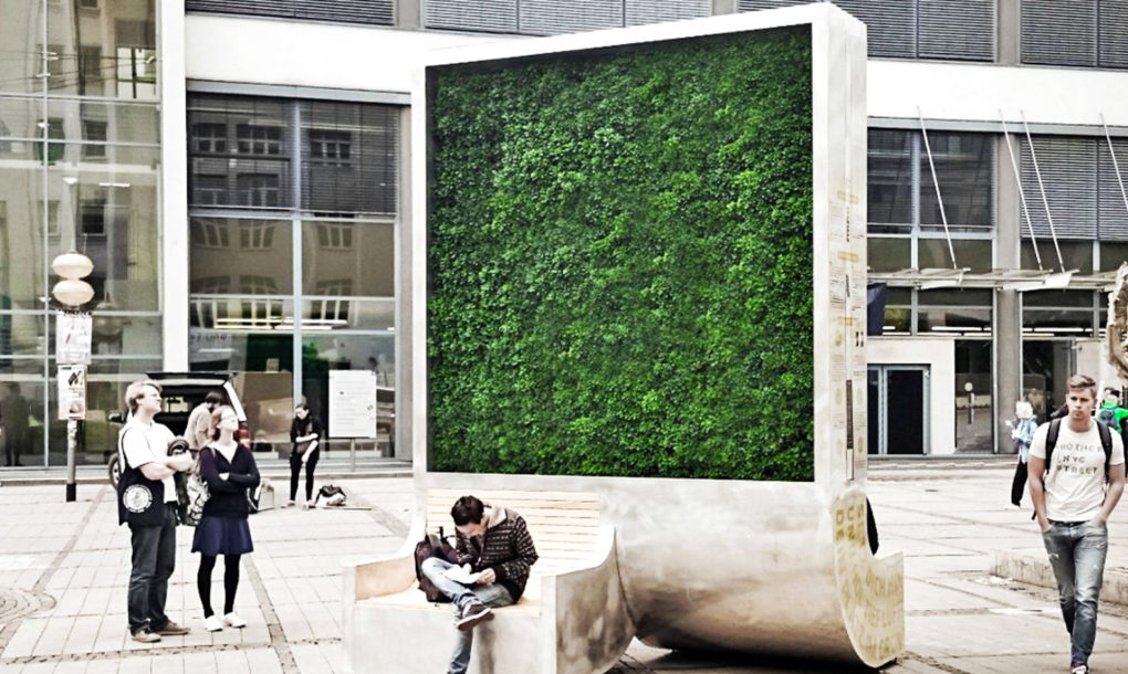 "perierga.gr - ""Πράσινοι"" τοίχοι στις πόλεις καθαρίζουν τον αέρα όπως 275 δέντρα..."