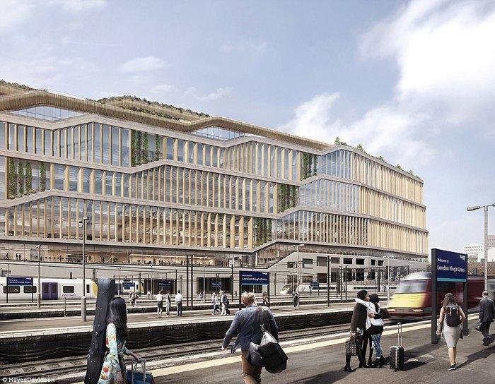 perierga.gr - Τα νέα γραφεία της Google στο Λονδίνο εντυπωσιάζουν!