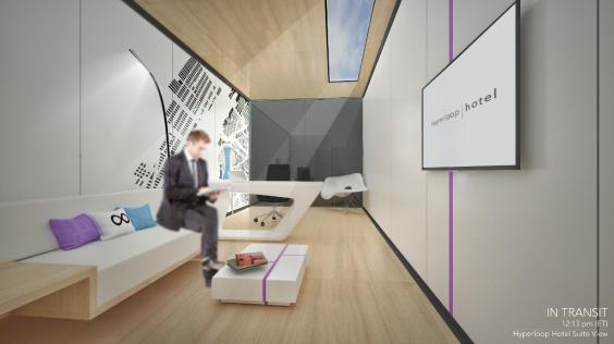 perierga.gr - Hyperloop Hotel: Το ξενοδοχείο του μέλλοντος