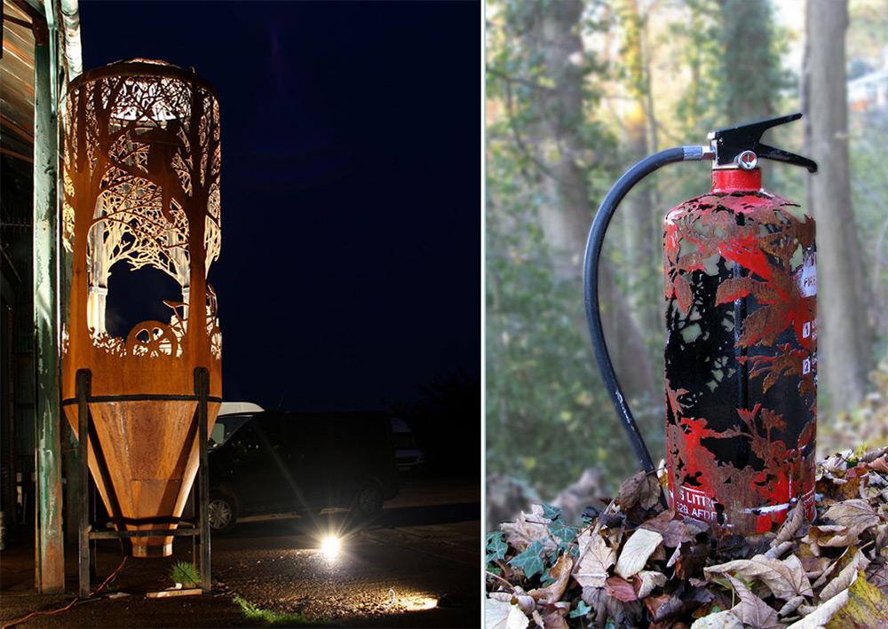 perierga.gr - Στοιχεία της φύσης αποτυπώνονται πάνω σε σκουριασμένα αντικείμενα!
