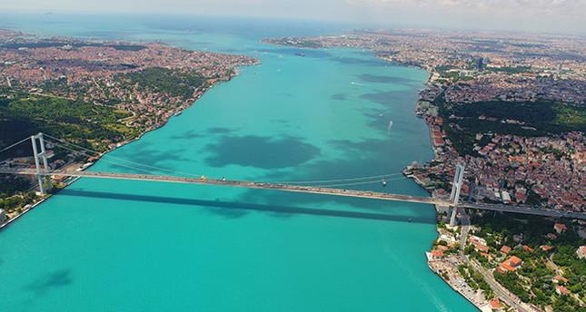 perierga.gr - Τιρκουάζ χρώμα τα νερά του Βοσπόρου!