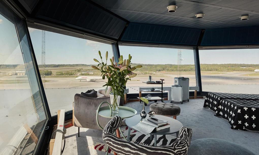 perierga.gr - Πύργος ελέγχου μεταμορφώνεται σε δωμάτιο ξενοδοχείου!