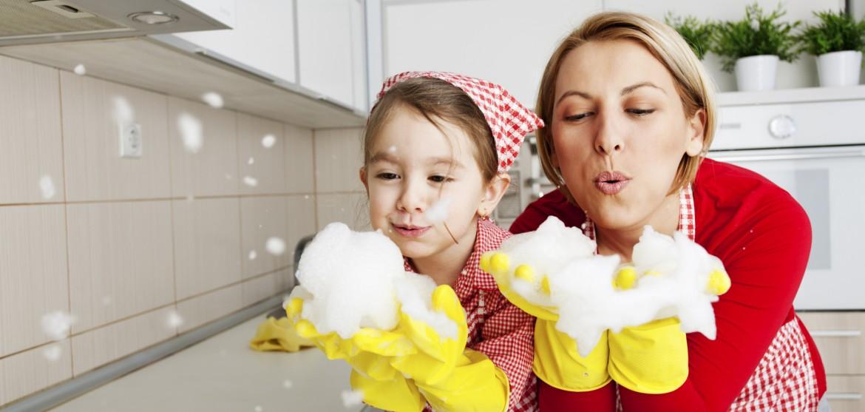 perierga.gr - H πολλή καθαριότητα βλάπτει την υγεία των παιδιών!