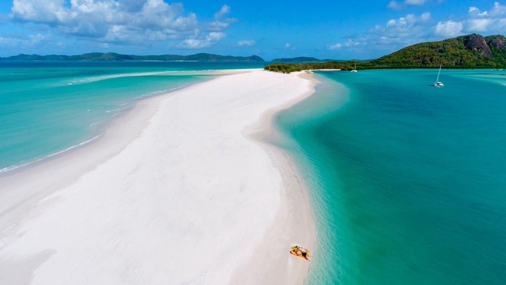 perierga.gr - Whitehaven: Η παραλία με την πιο άσπρη άμμο!