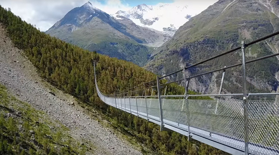 perierga.gr - Η μακρύτερη κρεμαστή πεζογέφυρα του κόσμου