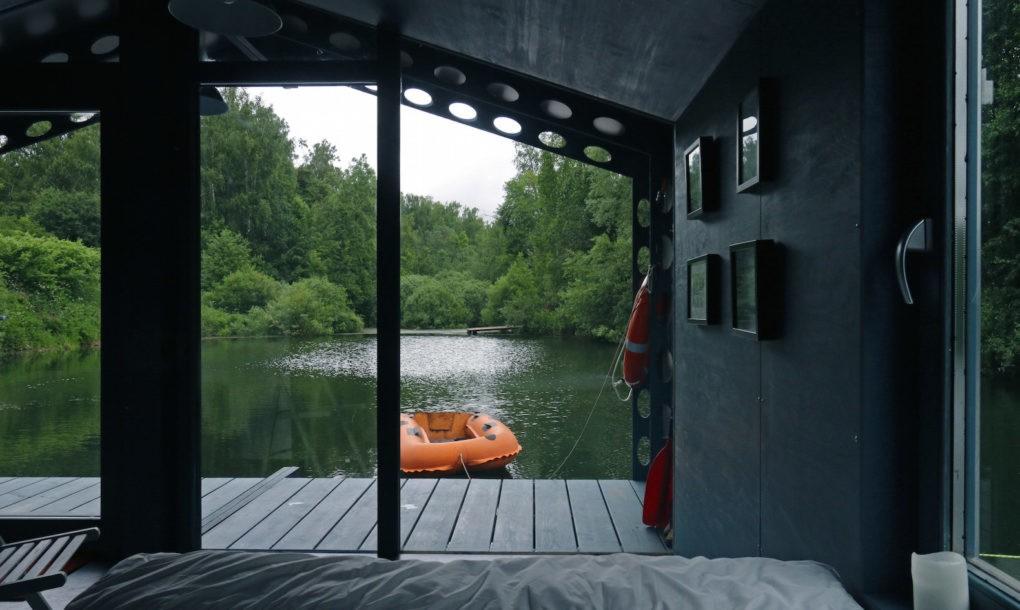 perierga.gr- Κατοικία 16 τ.μ. επιπλέει στο νερό...