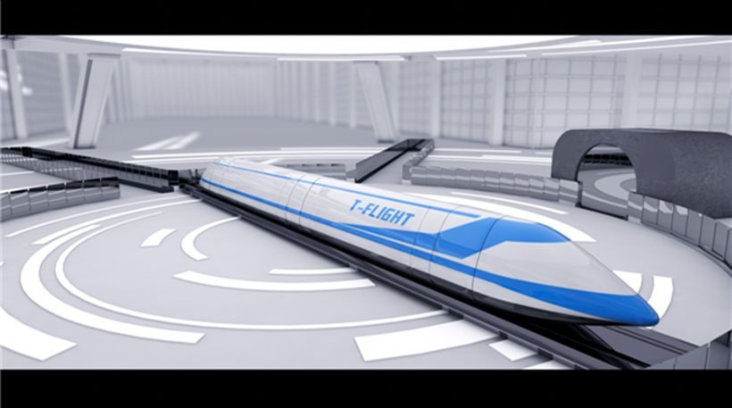 perierga.gr - Η Κίνα θα φτιάξει «ιπτάμενα τρένα» που θα πηγαίνουν με 4.000 χλμ. την ώρα!