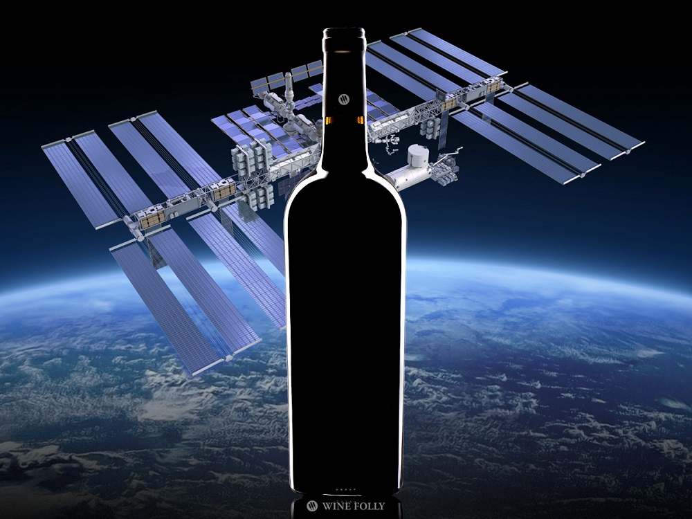 perierga.gr - Παραγωγή κρασιού στο Διάστημα;