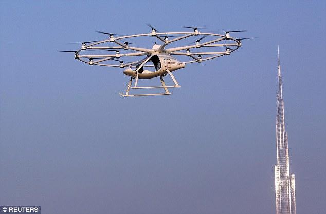perierga.gr - Έρχονται τα ιπτάμενα ταξί στο Ντουμπάι