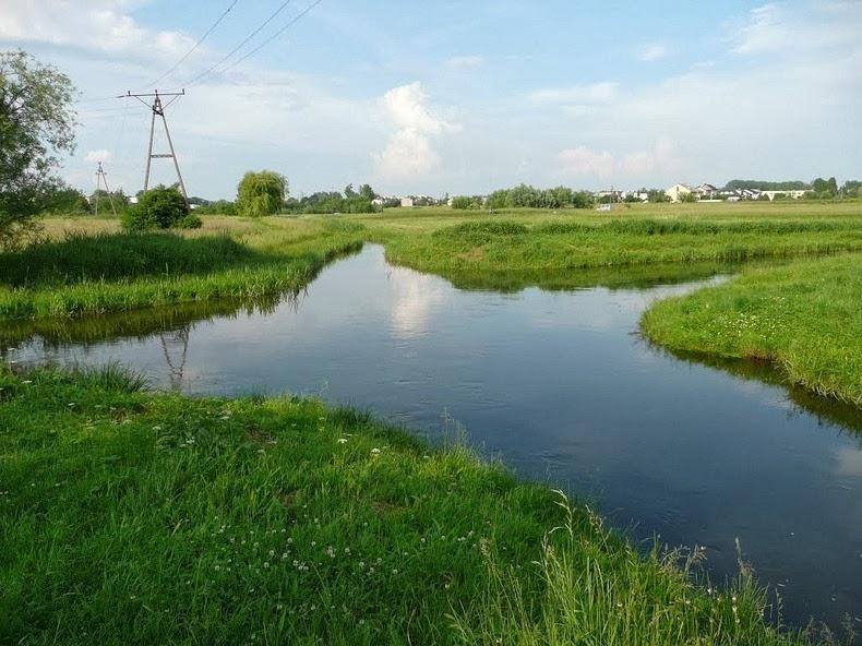 perierga.gr - Welna & Nielba: Δύο ποτάμια συναντιούνται χωρίς να ενώνονται τα νερά τους!