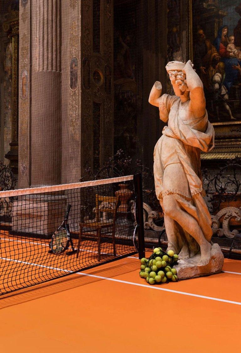 perierga.gr - Το πιο εμπβληματικό γήπεδο τένις!