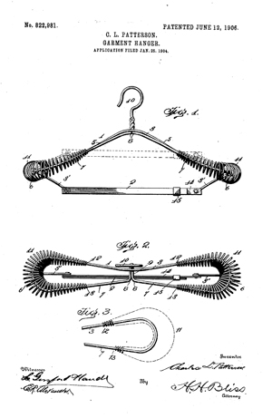 perierga.gr - Η εφεύρεση της κρεμάστρας για να μην... τσαλακωθεί ένα σακάκι!