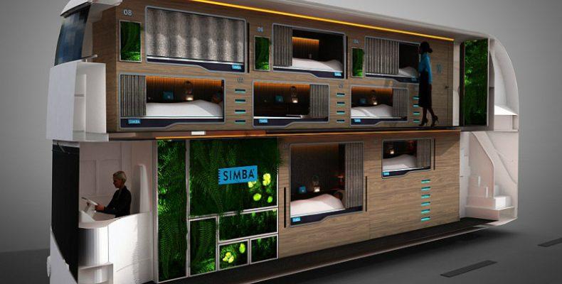 Perierga.gr-Λεωφορεία θα μεταμορφωθούν σε κινούμενα πολυτελή ξενοδοχεία