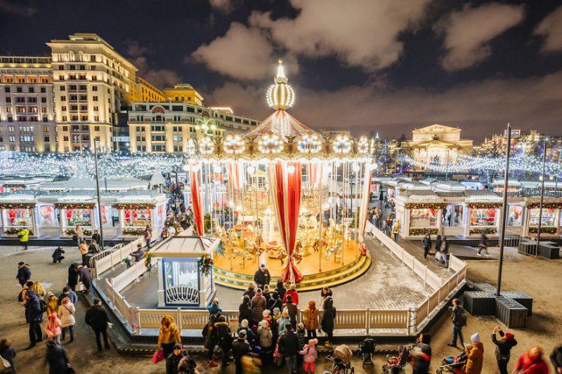 Perierga.gr - Μαγικές εικόνες από τη χριστουγεννιάτικη Μόσχα