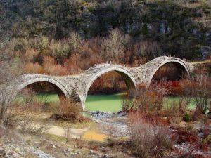 Υπέροχα πέτρινα γεφύρια της Βόρεια Ελλάδας!