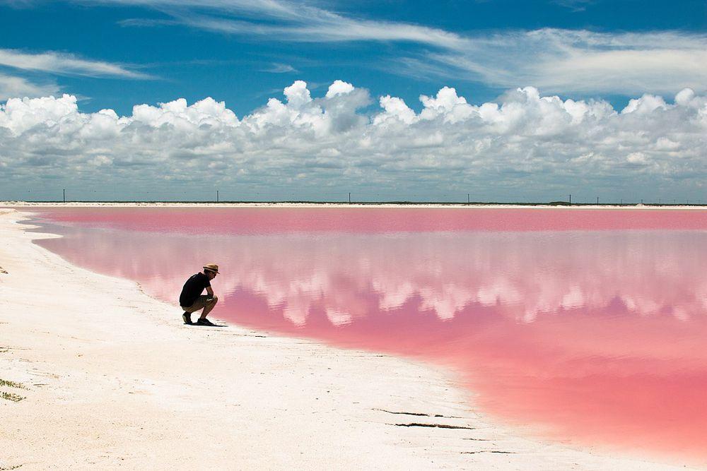perierga.gr - 10 πανέμορφες λίμνες σε... ροζ χρώμα!