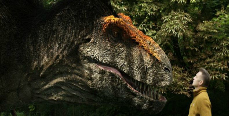 Perierga.gr - Έτσι έμοιαζε πραγματικά ο Τυραννόσαυρος Rex!