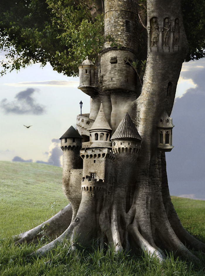Perierga.gr - Σπίτια φτιαγμένα από καθημερινά αντικείμενα χάρη στο Photoshop!
