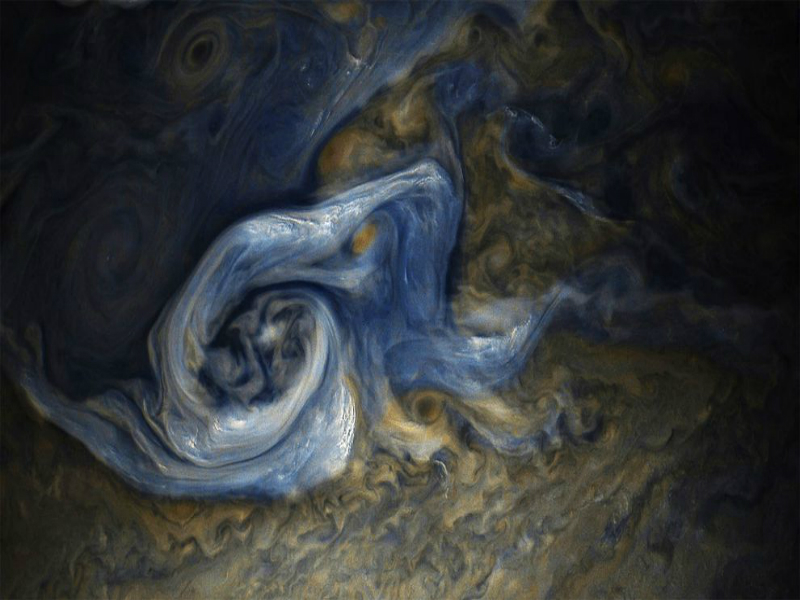 Perierga.gr - Δίας: Ένα...έργο τέχνης του ηλιακού μας συστήματος