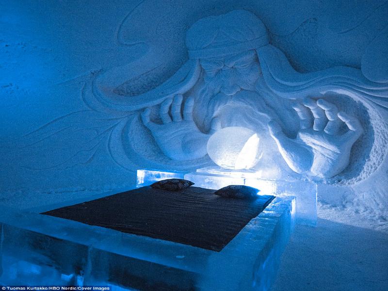 Perierga.gr - Ανοίγει ξενοδοχείο από πάγο με θέμα το Game of Thrones!