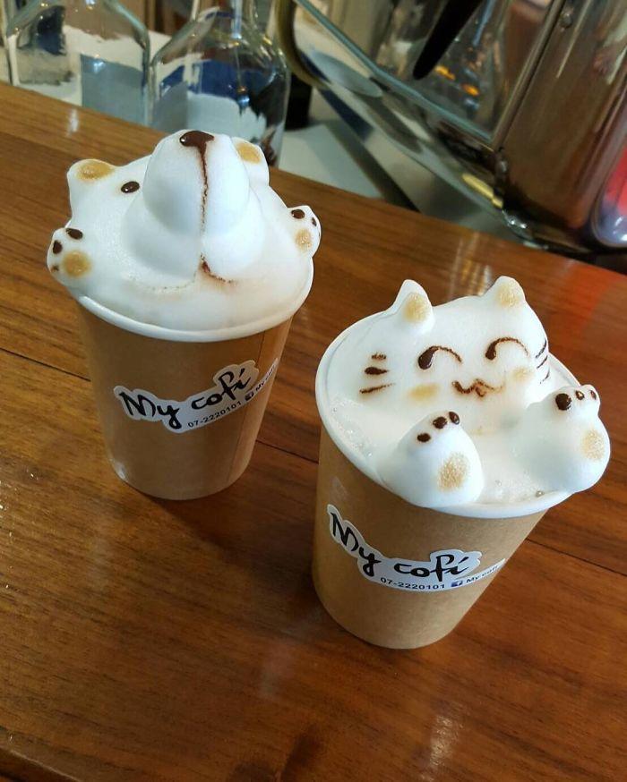 Perierga.gr - Καφέδες που προτιμάς να χαζεύεις από το να πίνεις!