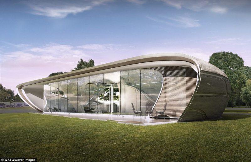Perierga.gr - Έτσι θα μοιάζει το πρώτο εκτυπωμένο σπίτι που θα φτιαχτεί φέτος