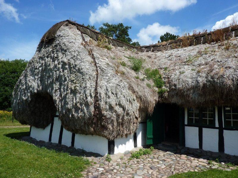 Perierga.gr - Στέγες φτιαγμένες από φύκια στα παραδοσιακά σπίτια της Δανίας!