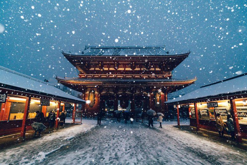 Perierga.gr - Όμορφες εικόνες από τη χιονισμένη ιαπωνική πρωτεύουσα