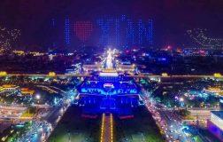 Perierga.gr - Εντυπωσιακό θέαμα με ταυτόχρονη πτήση 1.374 κινεζικών drones