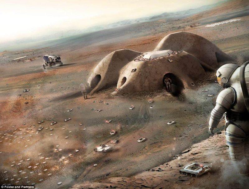 Perierga.gr - Πώς θα μπορούσε να είναι η ζωή μας στον Άρη