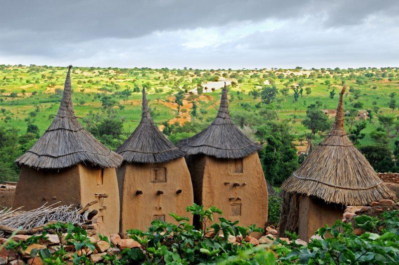 Perierga.gr - Τα ιδιαίτερα χωριά της αφρικανικής φυλής Ντόγκον στο Μάλι