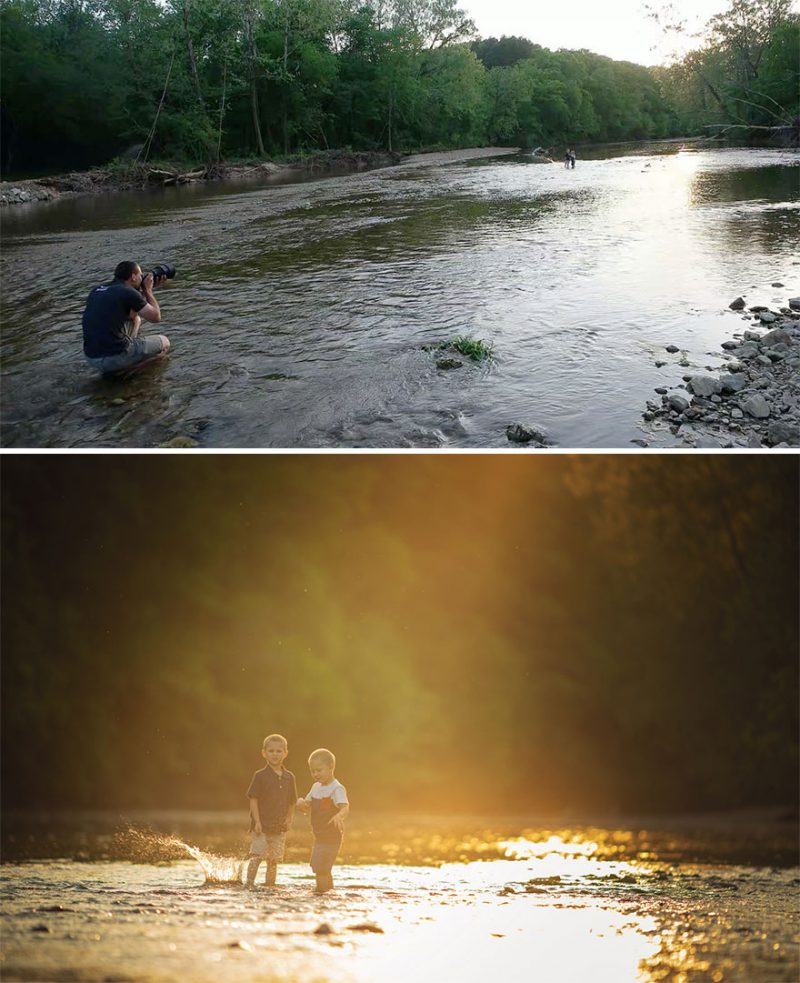 Perierga.gr - Στα... παρασκήνια μιας επαγγελματικής φωτογράφισης!