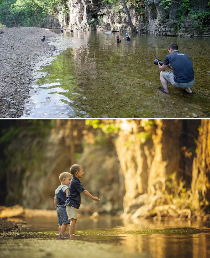 Στα… παρασκήνια μιας επαγγελματικής φωτογράφισης!