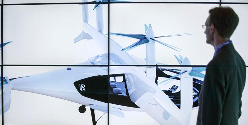 Ιπτάμενα ταξί από την Roll-Royce σύντομα στον ουρανό