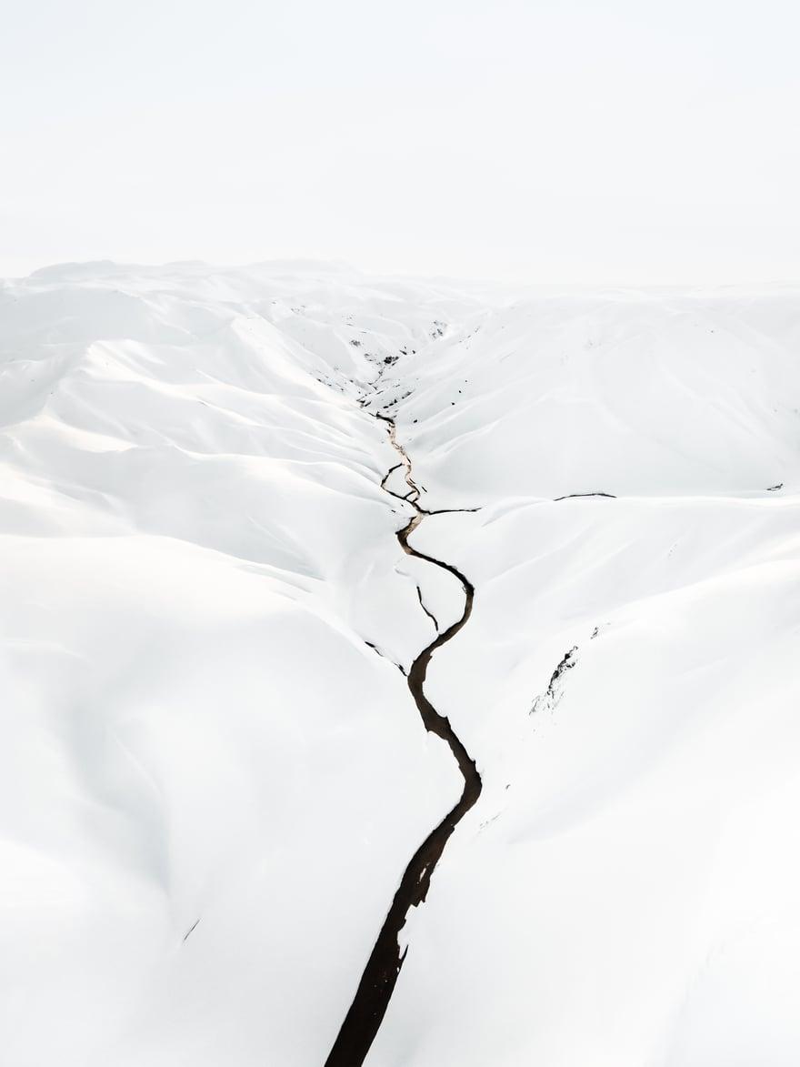 Perierga.gr - Περίεργες δομές, υφές και χρώματα της Ανταρκτικής