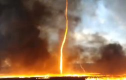 Perierga.gr - Στρόβιλος πυρκαγιάς καταγράφηκε σε βίντεο!