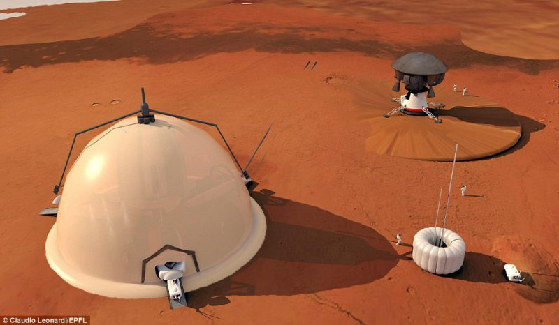 Perierga.gr - Έτσι θα μοιάζουν οι μελλοντικές αποικίες στον Άρη