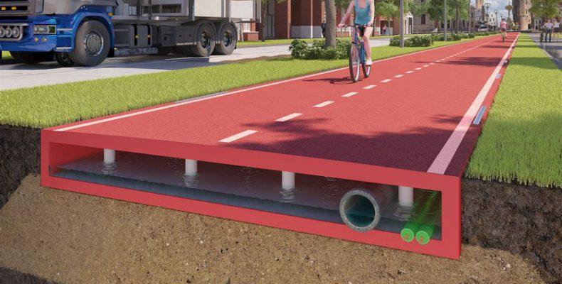 Perierga.gr - Ο πρώτος ποδηλατόδρομος από ανακυκλωμένο πλαστικό στην Ολλανδία