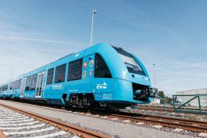Perierga.gr - Τα πρώτα τρένα κινούμενα με υδρογόνο στον κόσμο