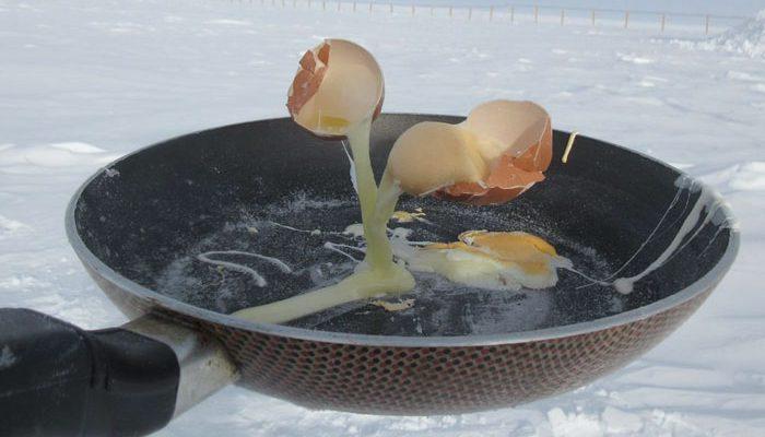 Perierga.gr - Πώς είναι να μαγειρεύεις στους -70° C