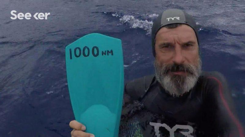 Perierga.gr - Ο άντρας που θέλει να διασχίσει τον Ειρηνικό κολυμπώντας