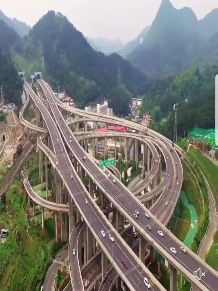 Perierga.gr - Ένας κόμβος.... rollercoaster!