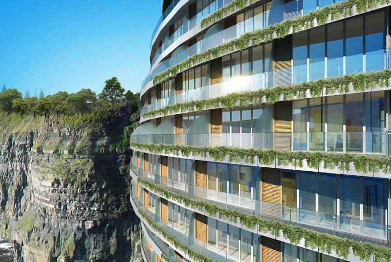 Perierga.gr - Το πρώτο ξενοδοχείο που χτίστηκε σε λατομείο