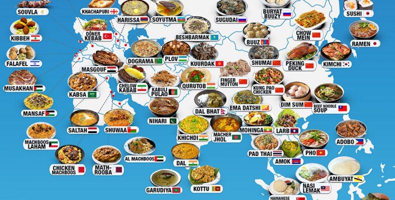 Perierga.gr - Τα πιο αντιπροσωπευτικά φαγητά ανά χώρα