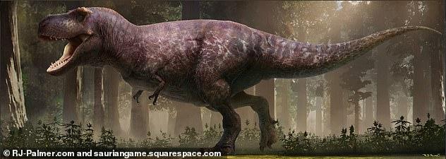 Perierga.gr - Η πιο ρεαλιστική απεικόνιση του Τυραννόσαυρου Ρεξ