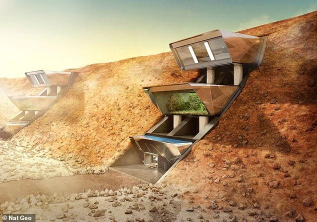 Perierga.gr - Με πολυτέλεια και ανέσεις θα ζουν οι πρώτοι άνθρωποι στον Άρη!