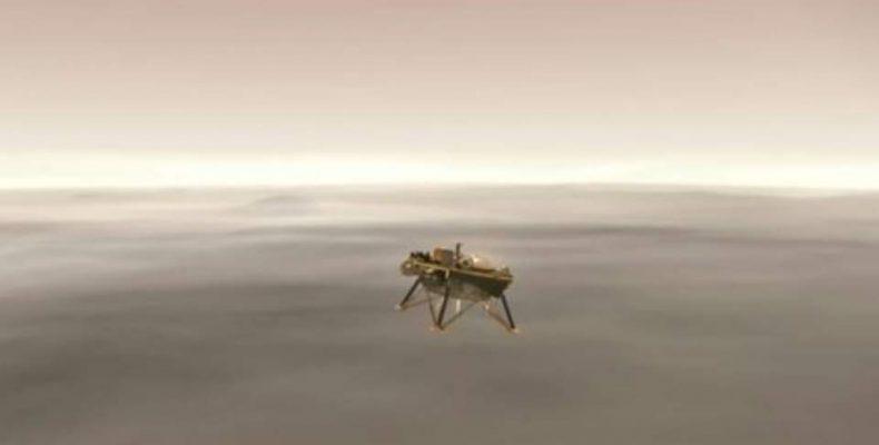 Perierga.gr - Το διαστημόπλοιο InSight της NASA έφτασε στον Άρη